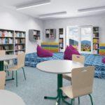 Vizualizace školní knihovny